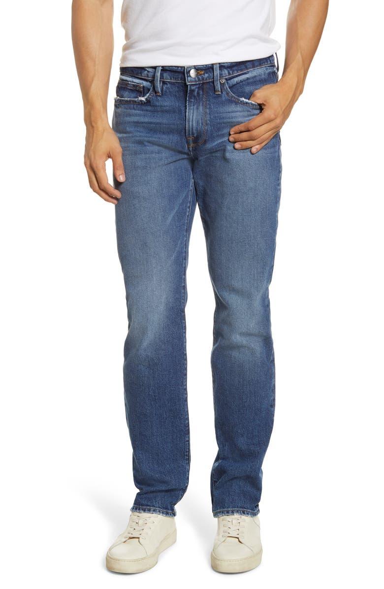 FRAME L'Homme Slim Fit Jeans, Main, color, WYATT