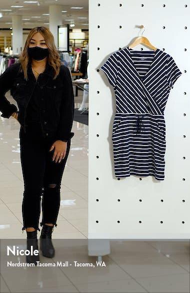 Sankaty Stripe Faux Wrap Dress, sales video thumbnail