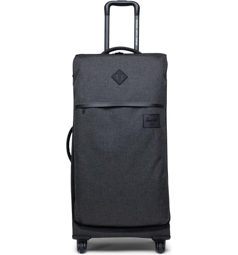 HERSCHEL SUPPLY CO. Highland Large Wheeled Packing Case, Main, color, 001