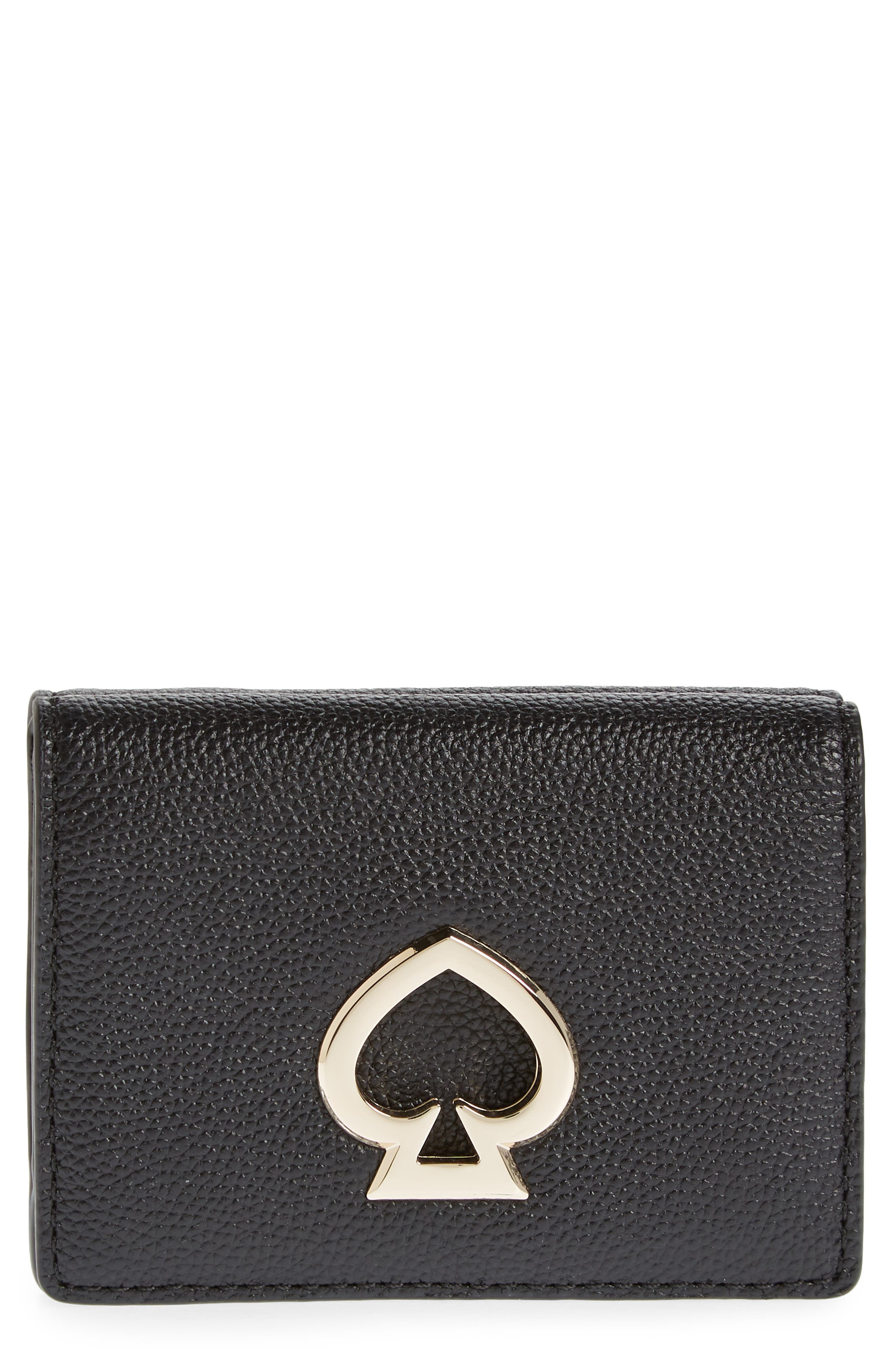 Image of kate spade new york mini suzy trifold leather wallet