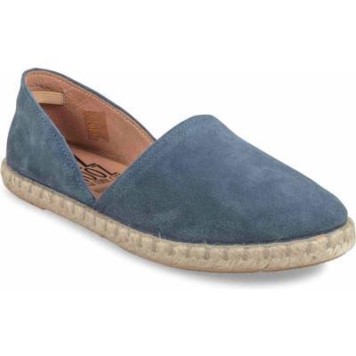 Miz Moos Celestine Espadrille Flat Blue