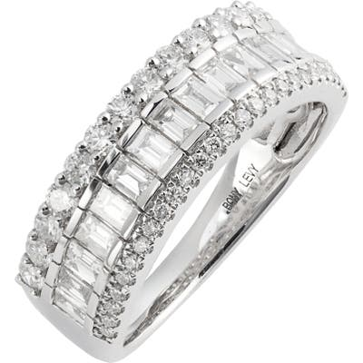 Bony Levy Gatsby Mixed Diamond Wide Band Ring (Nordstrom Exclusive)