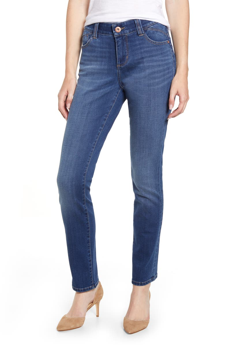 JAG JEANS Michelle Vintage Slim Jeans, Main, color, BRILLIANT BLUE