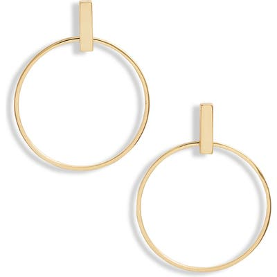 Gorjana Montecito Bar Hoop Earrings
