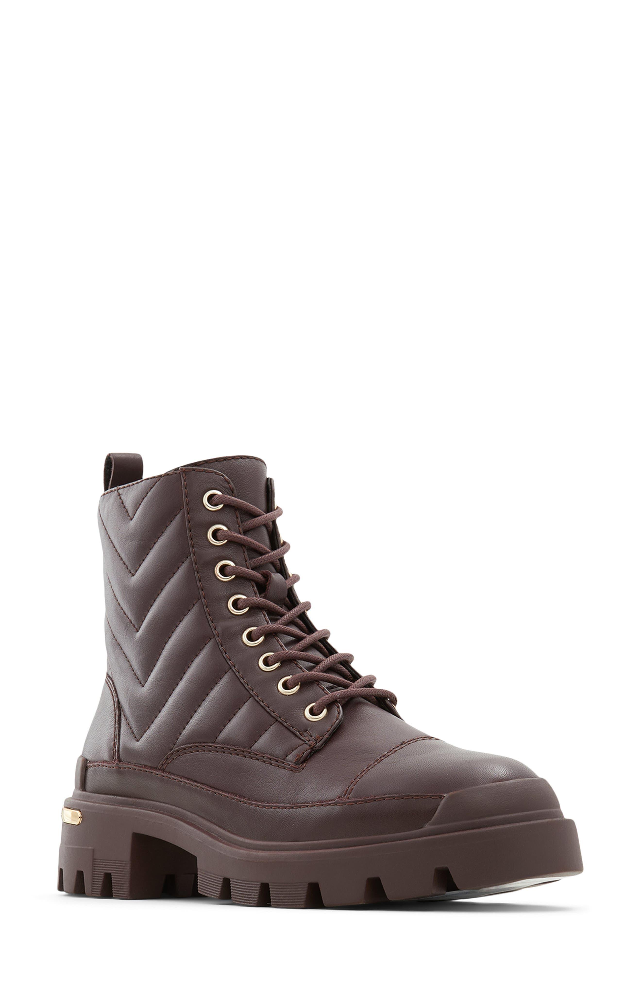 Quilt Combat Boot