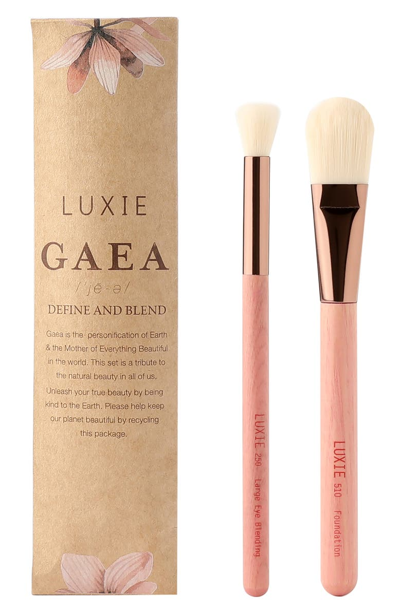 LUXIE Gaea Define & Blend Brush Set, Main, color, NO COLOR