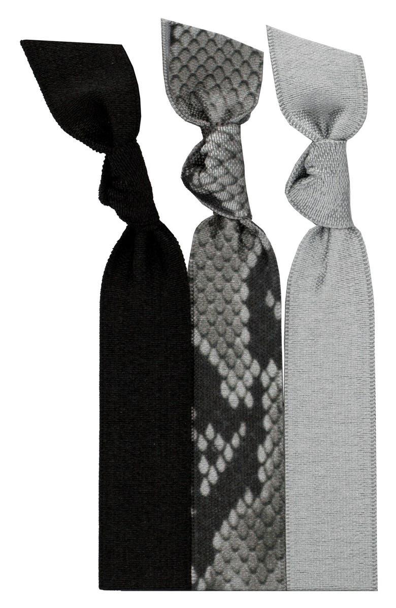 EMI-JAY 'Python' Hair Ties, Main, color, 001