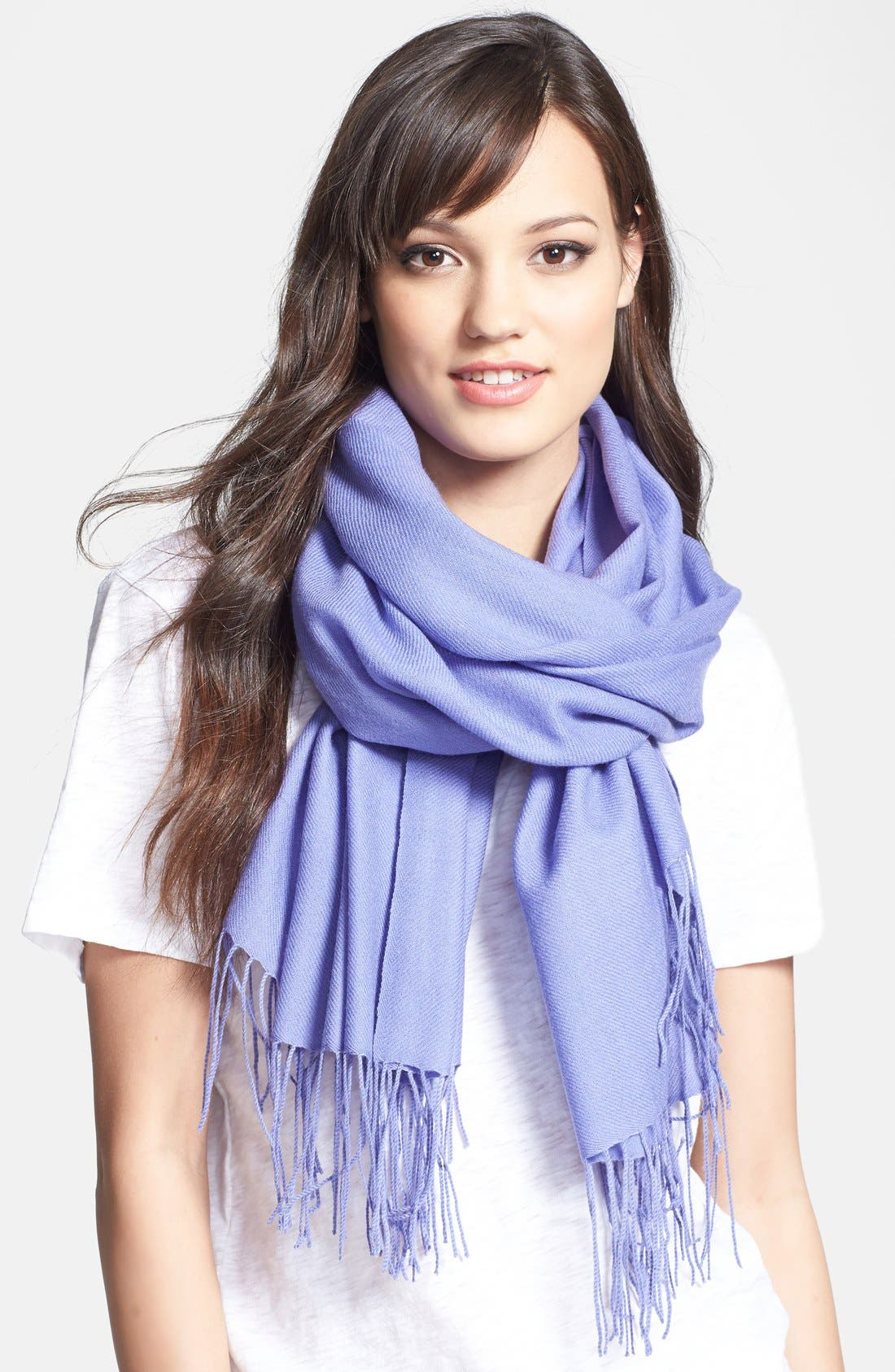 ,                             Tissue Weight Wool & Cashmere Wrap,                             Main thumbnail 82, color,                             415