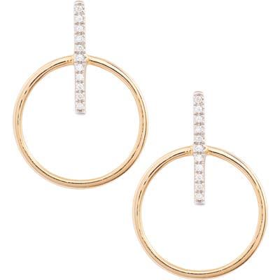 Bony Levy Kiera Circle Drop Earrings (Nordstrom Exclusive)