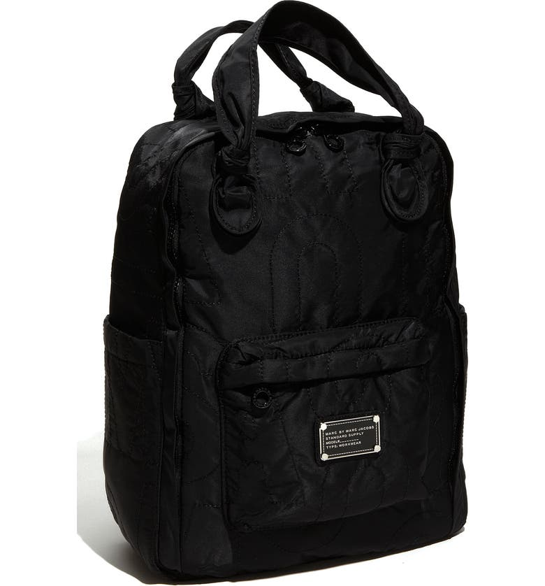 MARC JACOBS MARC BY MARC JACOBS 'Pretty Nylon' Knapsack, Main, color, 001