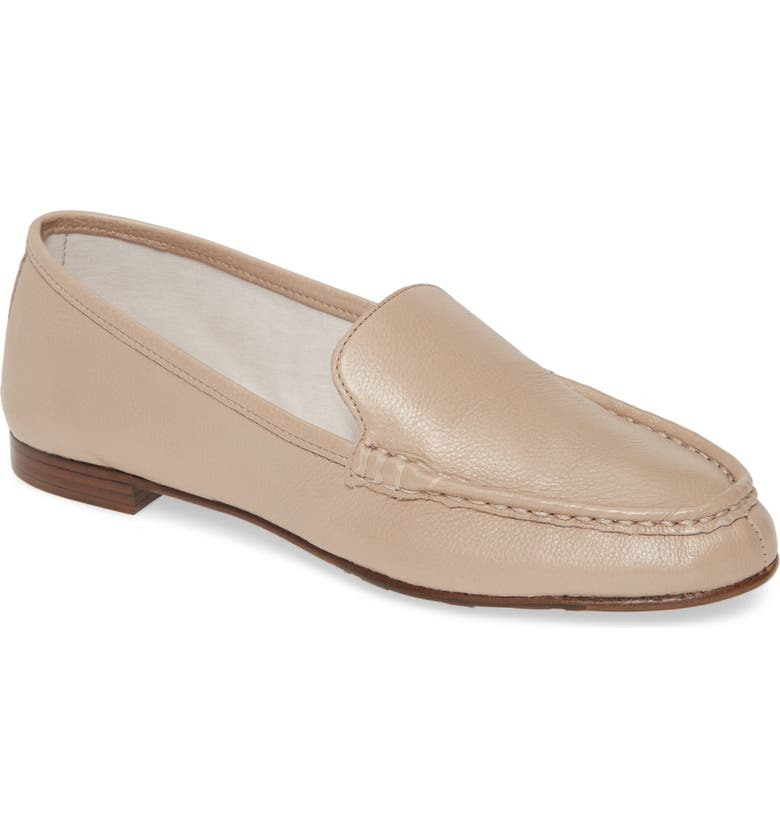 TARYN ROSE COLLECTION Diana Loafer, Main, color, TAUPE LEATHER