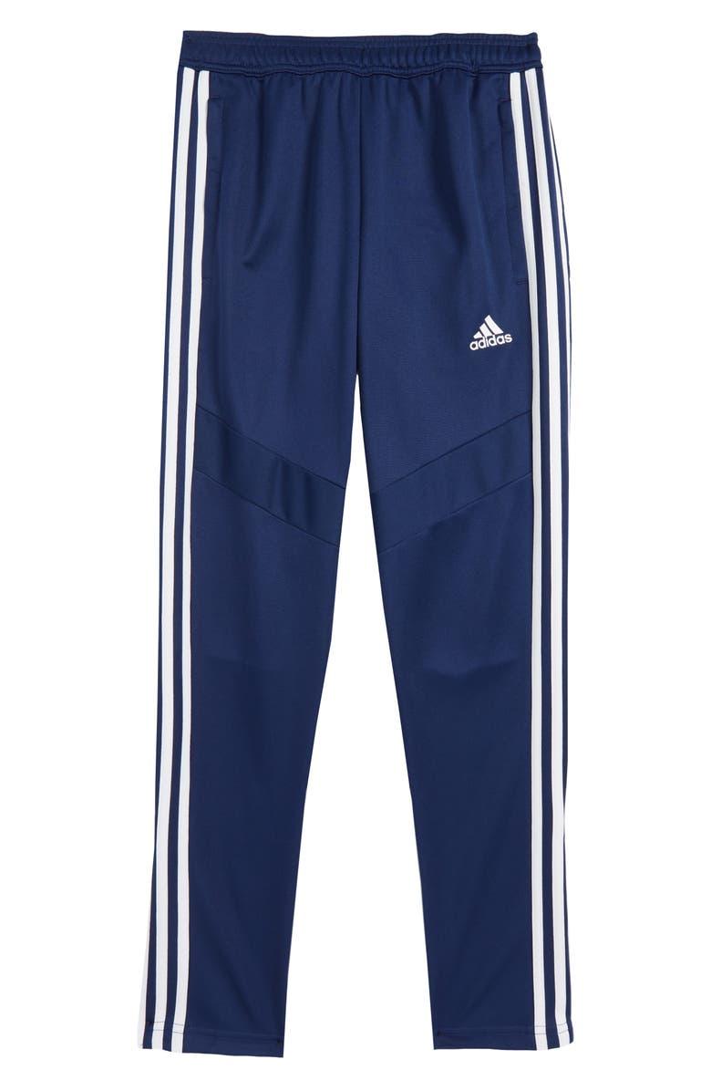 ADIDAS Kids' Tiro19 Track Pants, Main, color, DARK BLUE / WHITE