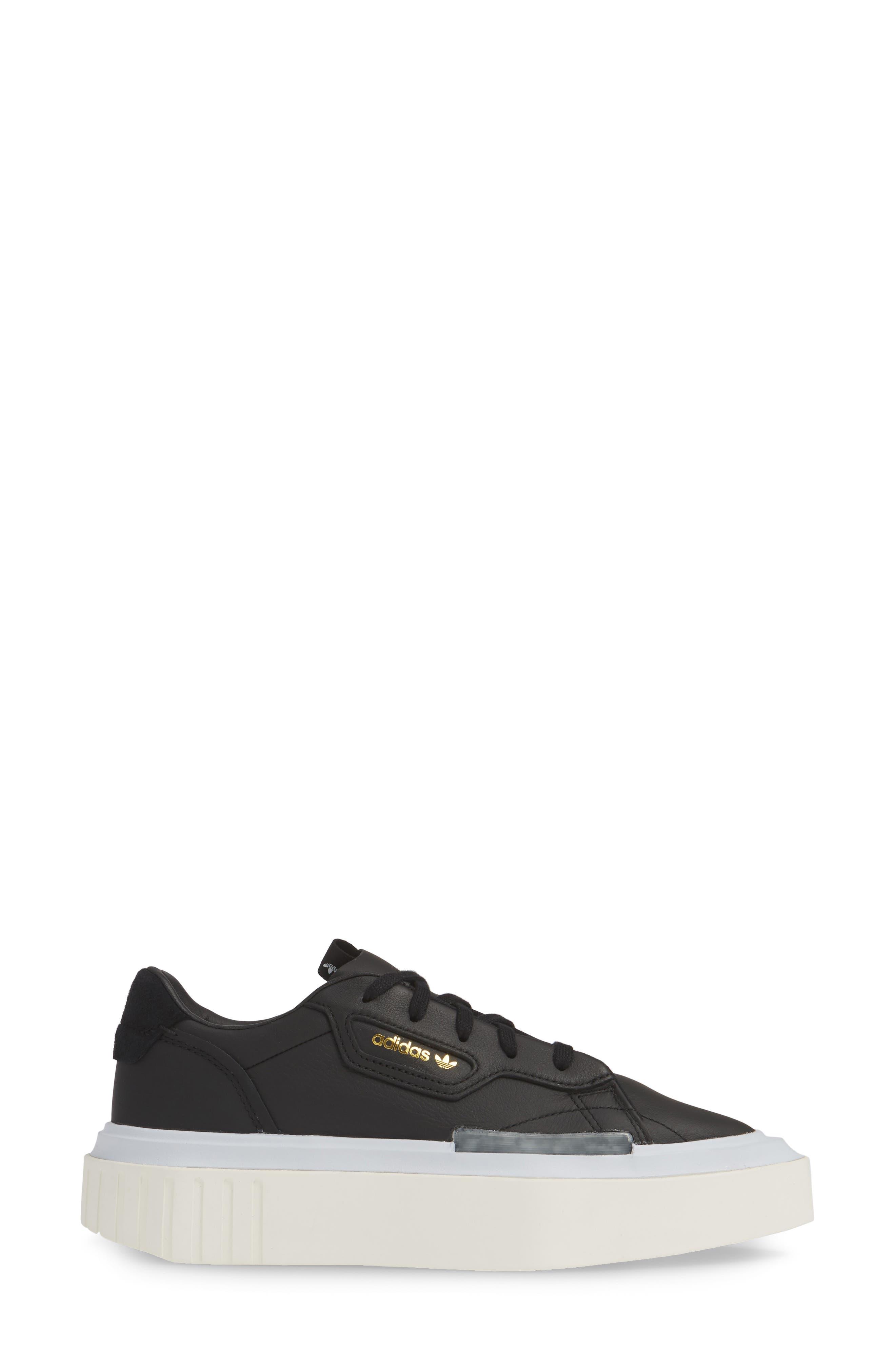 ,                             Hypersleek Platform Sneaker,                             Alternate thumbnail 3, color,                             CORE BLACK/ AERO BLUE