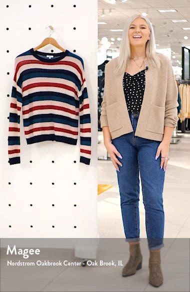 Adela Striped Sweater, sales video thumbnail