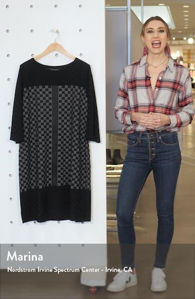 Check Sweater Dress, sales video thumbnail