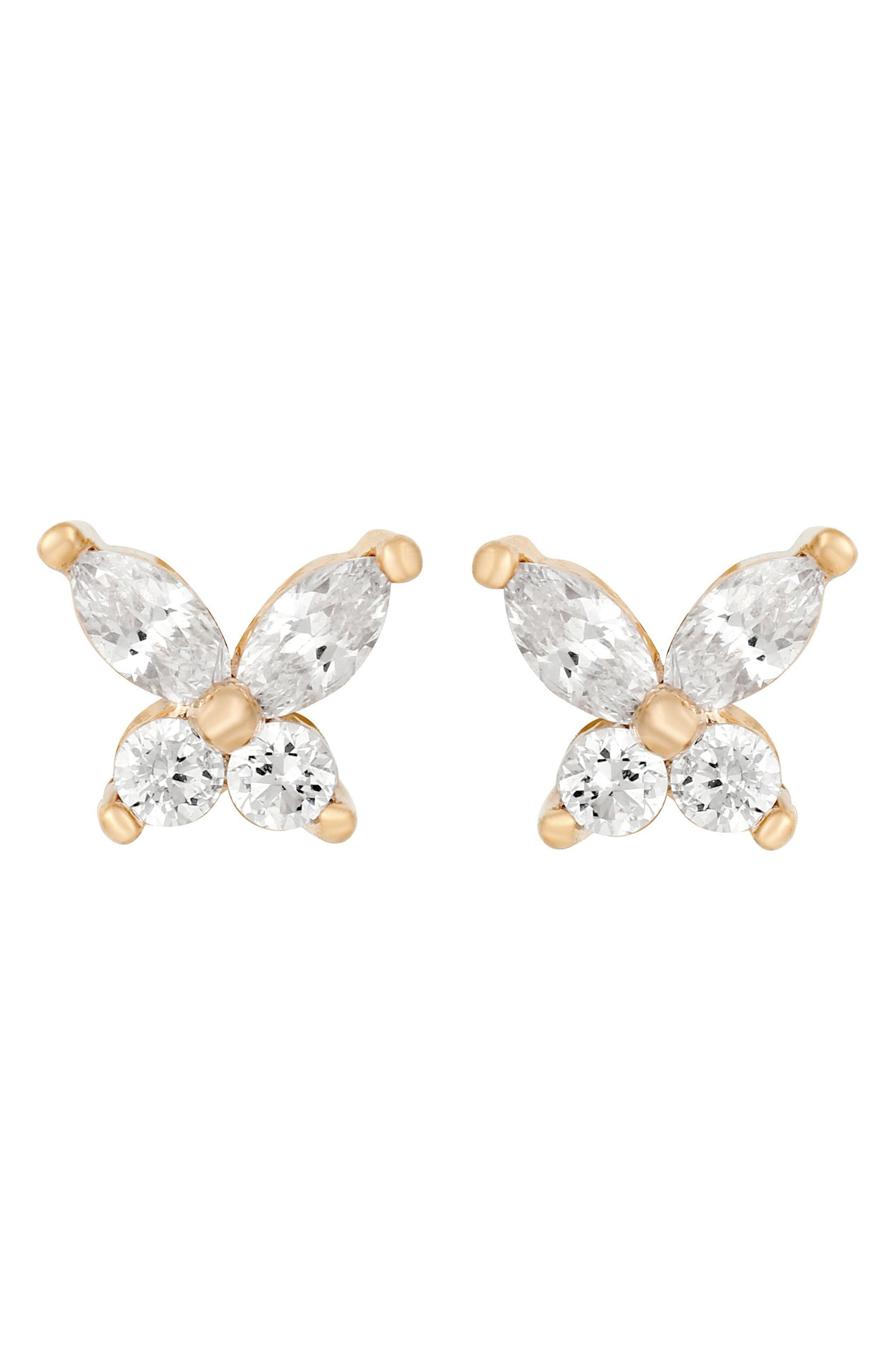 Born To Fly Stud Earrings