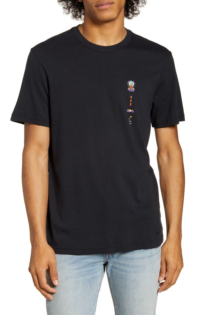 STANCE Cavolo Symbols Graphic T-Shirt, Main, color, BLACK