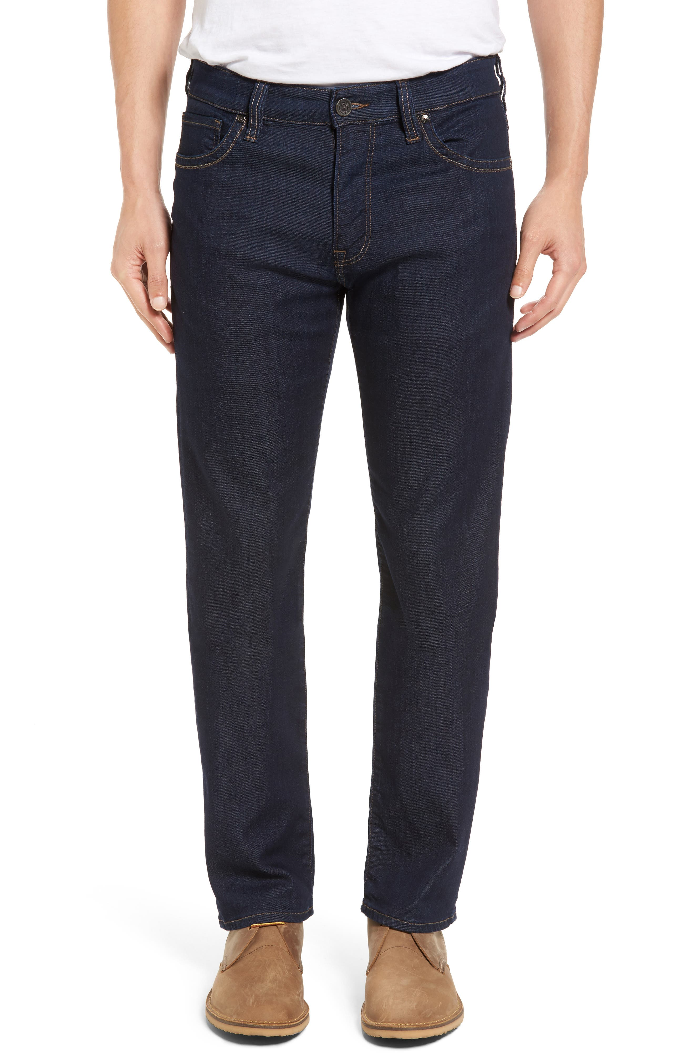 ,                             Courage Straight Leg Jeans,                             Main thumbnail 1, color,                             RINSE VINTAGE