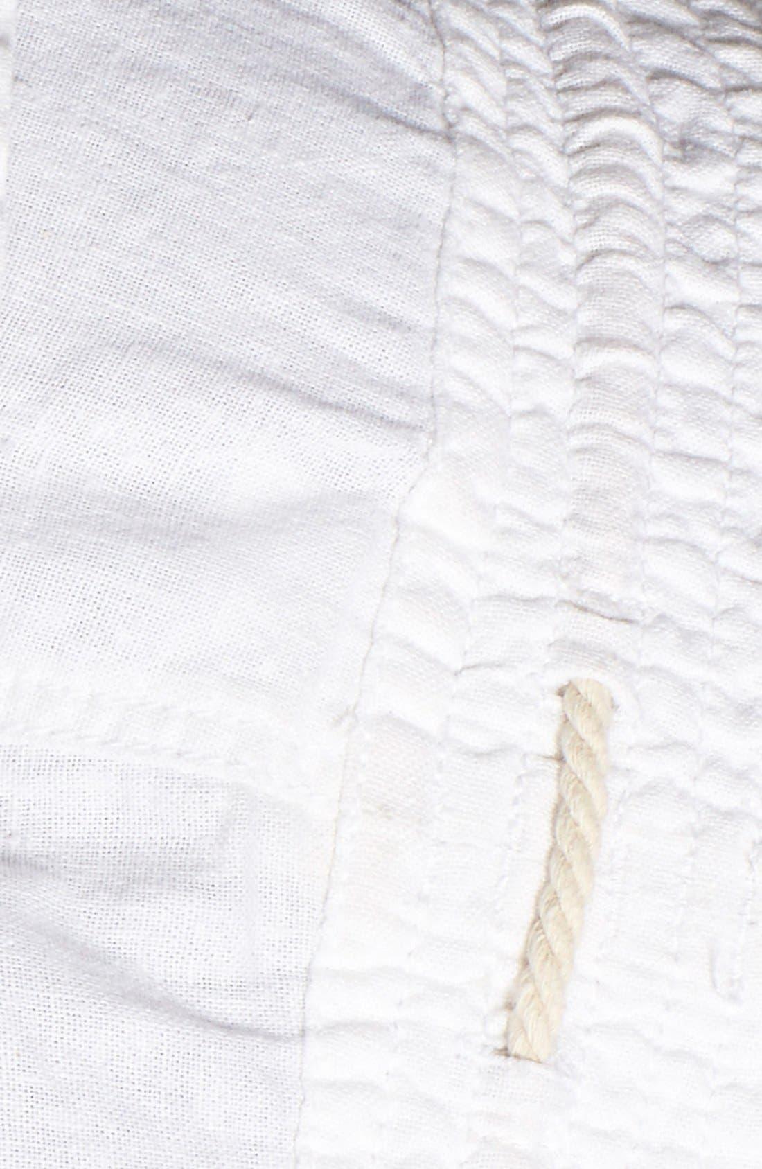 ,                             'Oceanside' Linen Blend Shorts,                             Alternate thumbnail 25, color,                             101