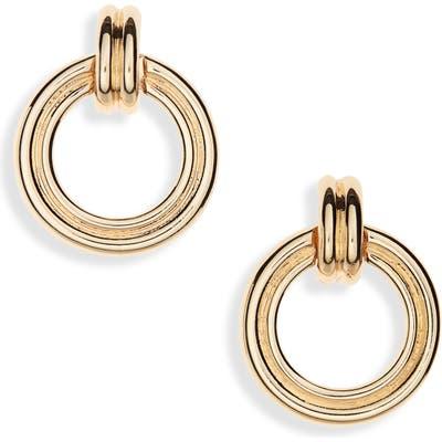 Halogen Frontal Hoop Earrings