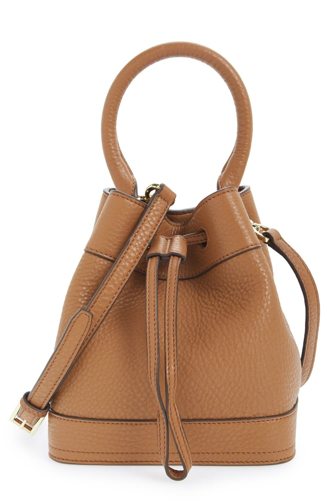 ,                             'Robinson' Pebbled Mini Bucket Bag,                             Main thumbnail 2, color,                             200