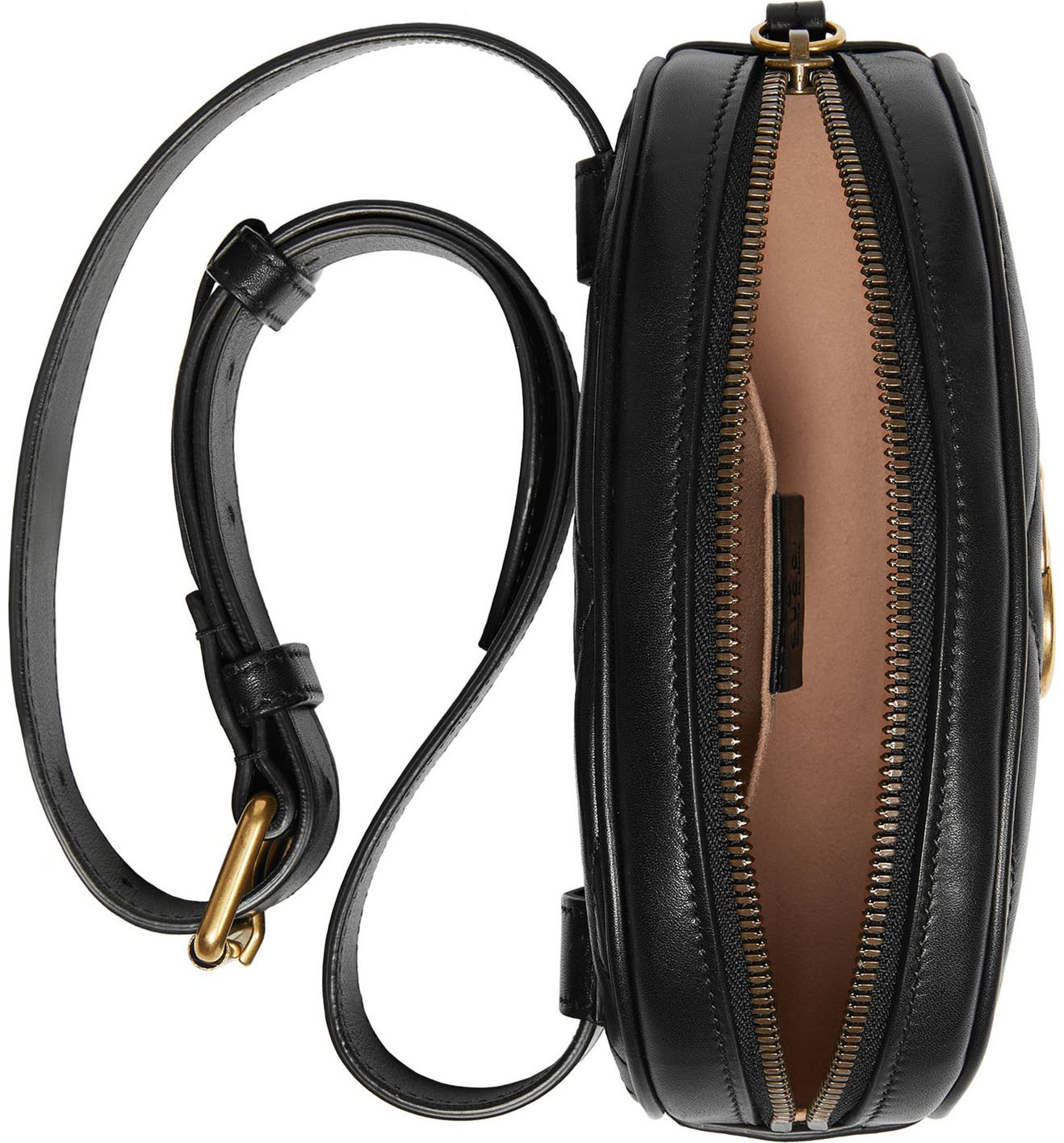 aa49db05134e Gucci GG Marmont 2.0 Matelassé Leather Belt Bag | Nordstrom