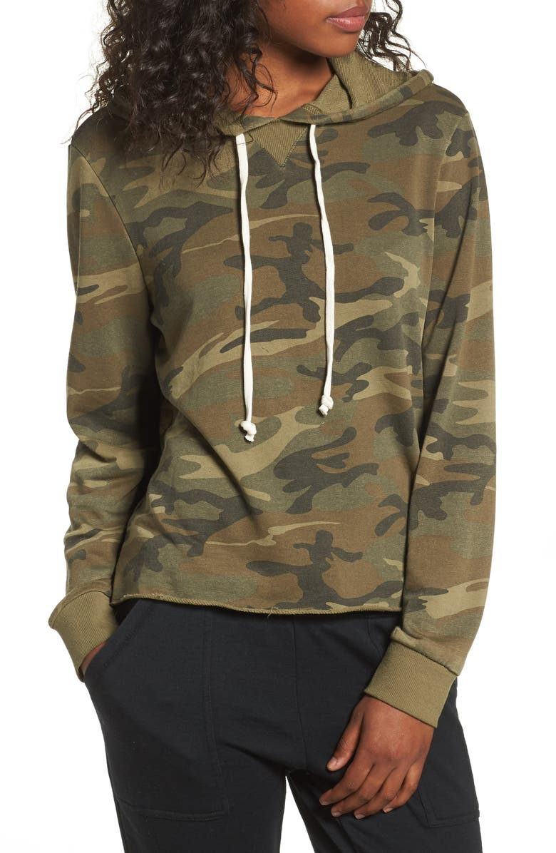ALTERNATIVE Day Off Hoodie, Main, color, CAMO