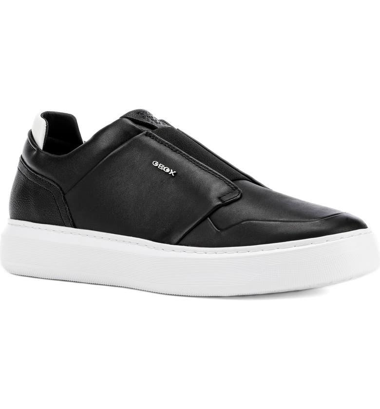 GEOX Deiven 19 Sneaker, Main, color, BLACK
