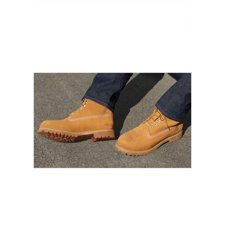 TIMBERLAND 6 Inch Premium Waterproof Boot, Main, color, 001