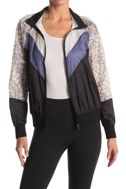 Image of Max Studio Chameleon Colorblock Zip Jacket