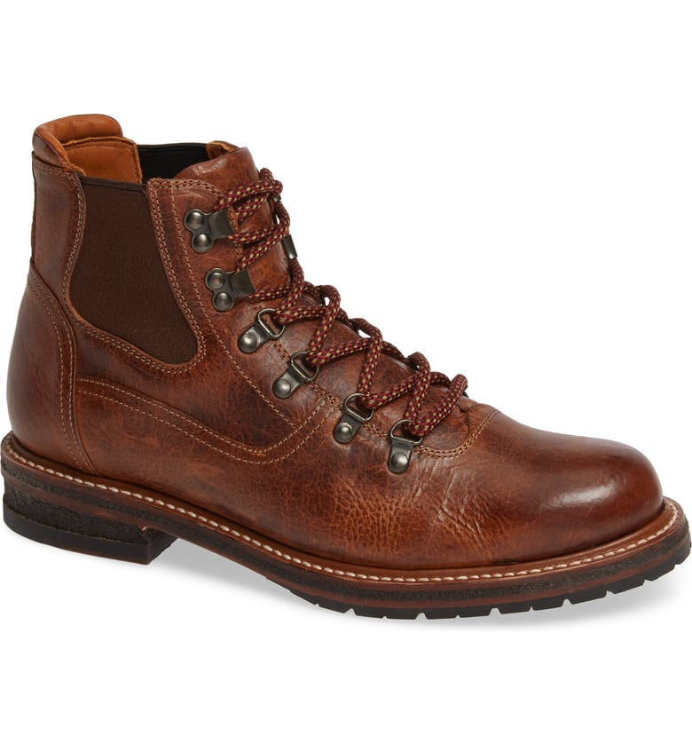 TWO24 by Ariat Hudson Mid Boot, Main, color, COGNAC BISON LEATHER