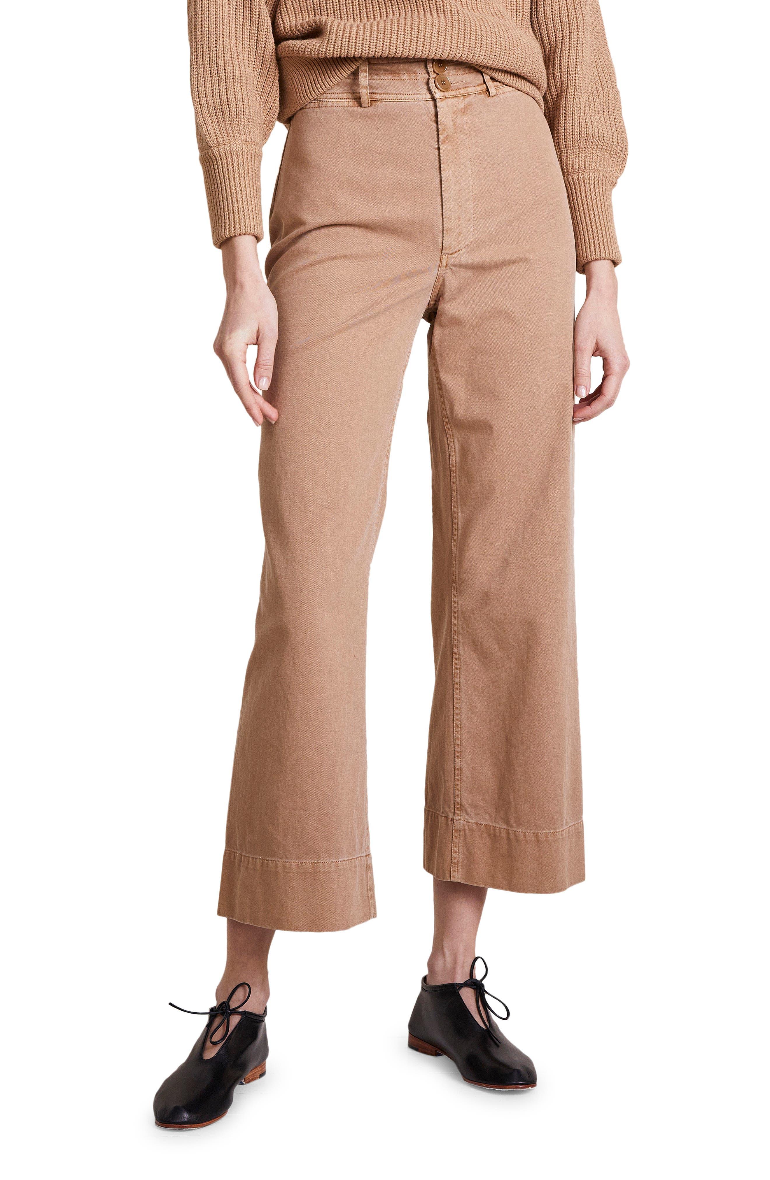 Merida Wide Leg Crop Pants