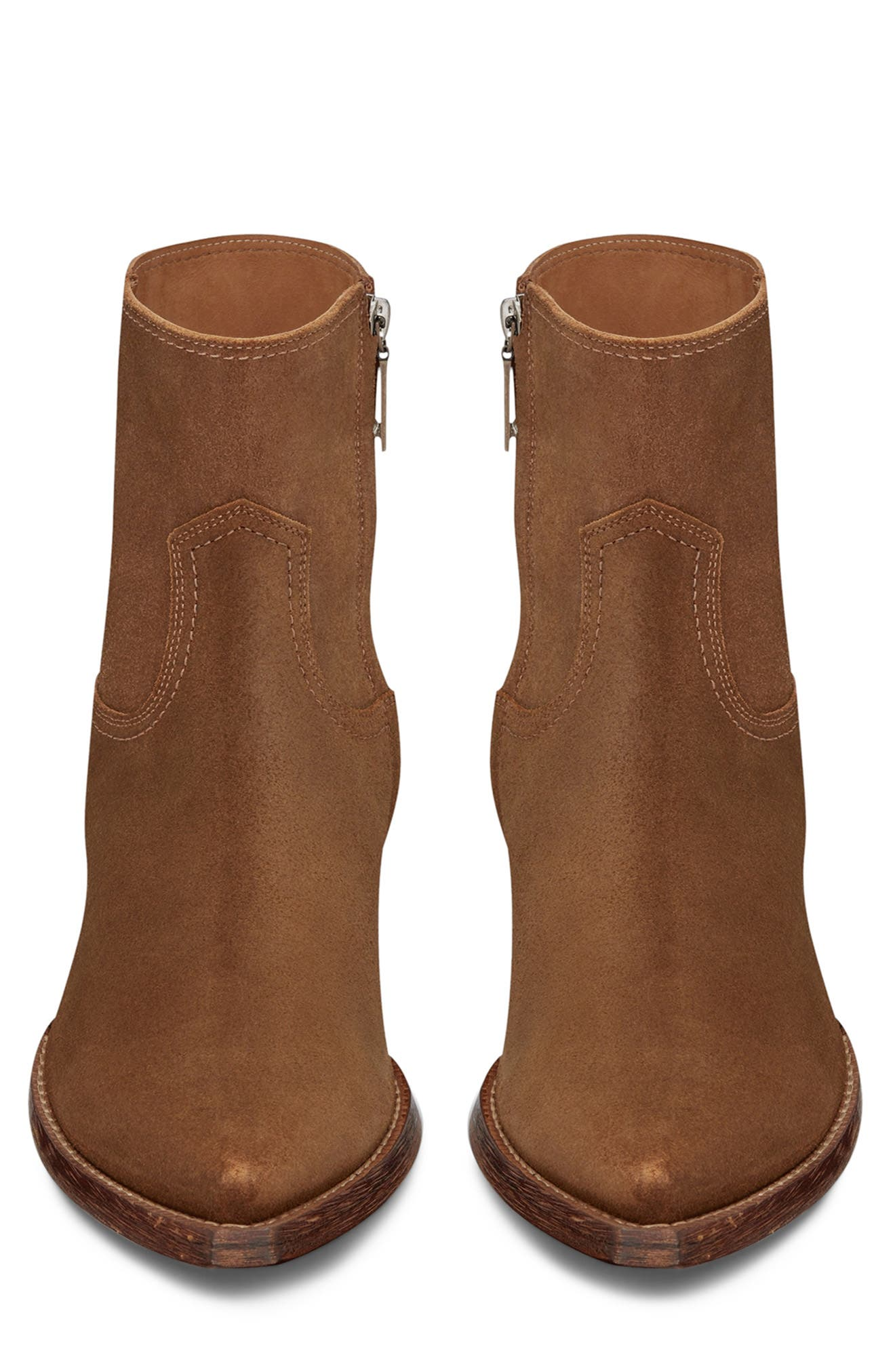 ,                             Lukas Zip Boot,                             Alternate thumbnail 3, color,                             NOISETTE