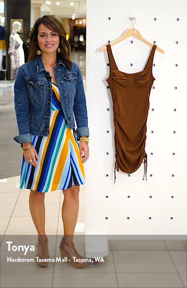 Side Ruched Body-Con Dress, sales video thumbnail