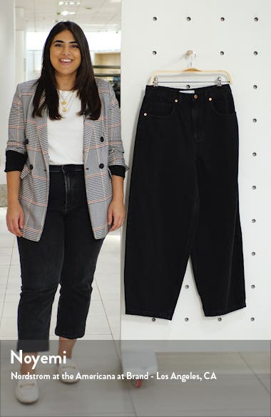 Washed Black Baggy Jeans, sales video thumbnail