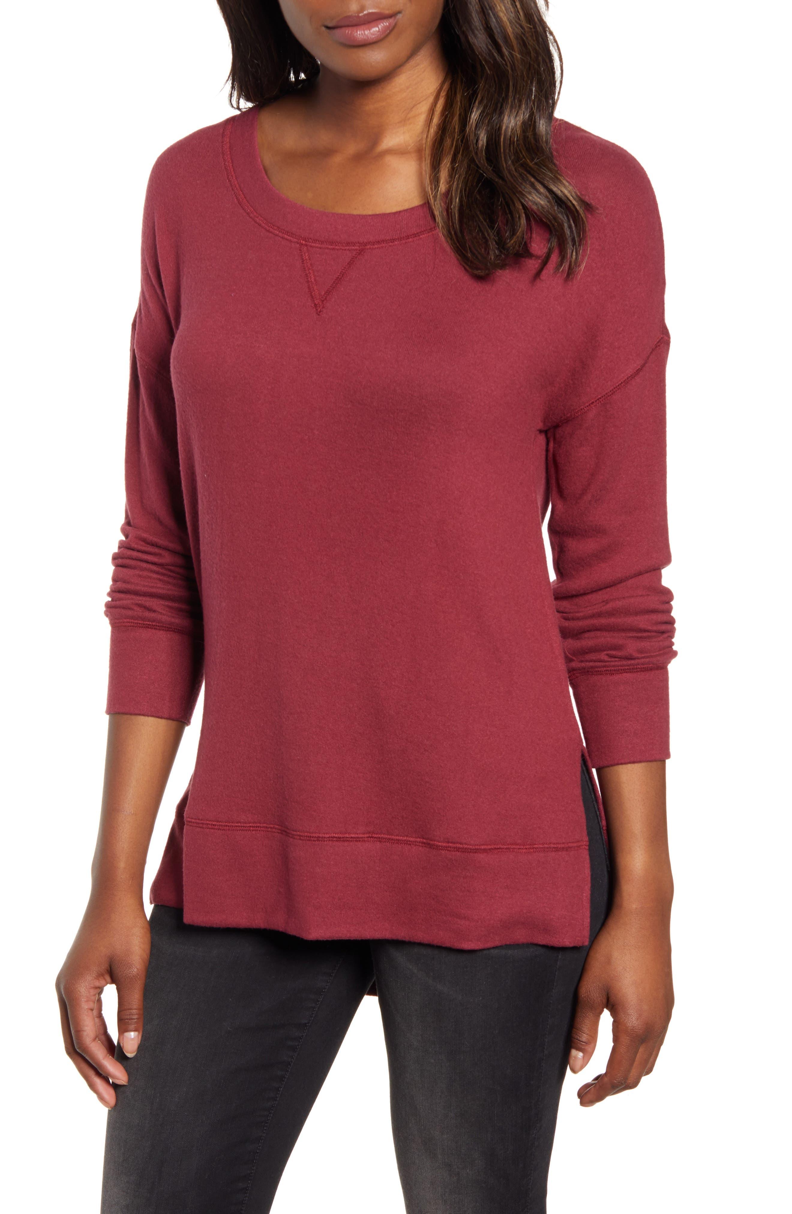 Caslon® Cozy Sweatshirt