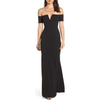 Lulus Lynne Off The Shoulder Gown