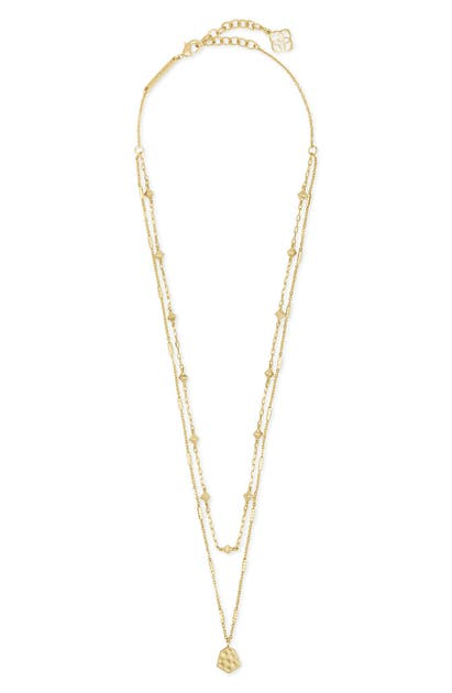 Kendra Scott CLOVE MULTISTRAND NECKLACE