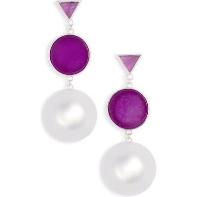 Kate Spade New York Modern Icon Double Drop Earrings
