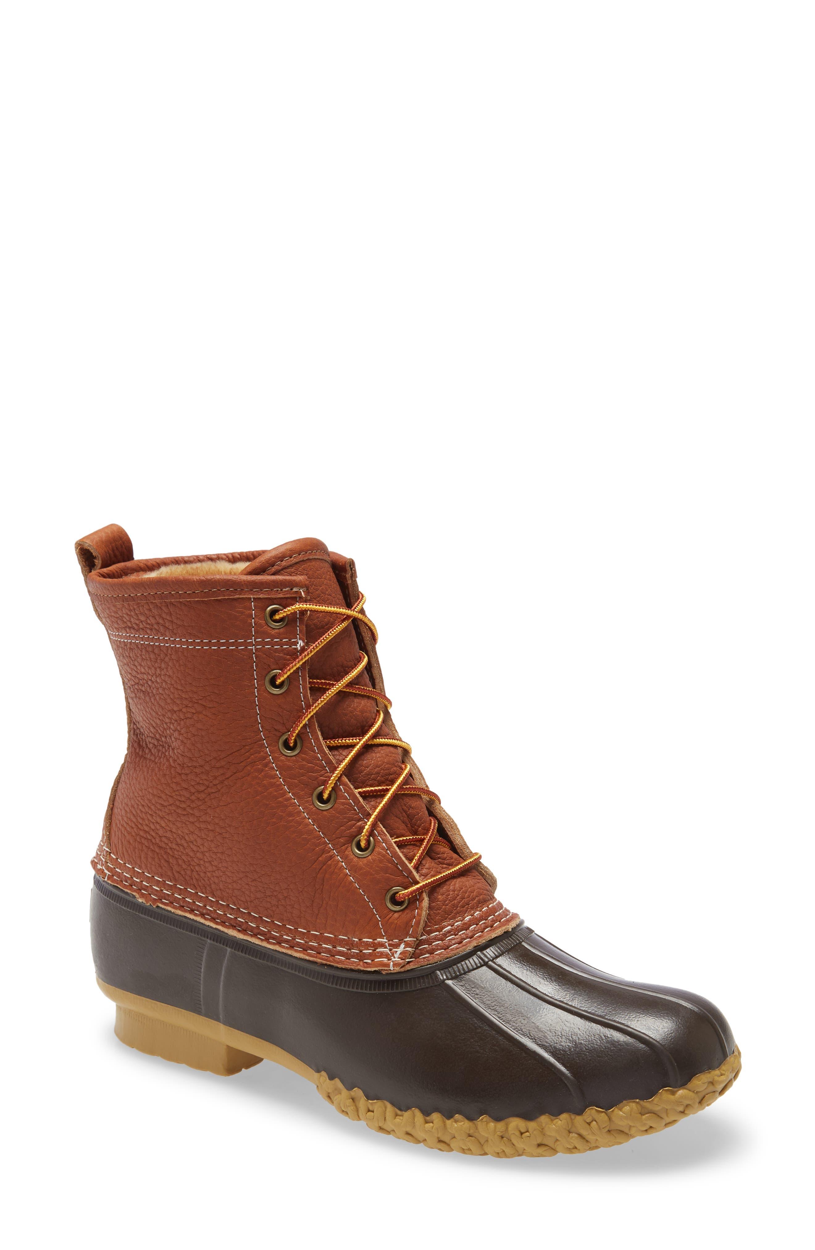 """8"""" Bean Boot"""