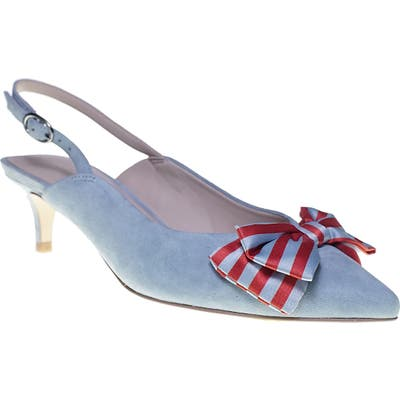 Cupcakes And Cashmere Jevlyn Pump- Blue