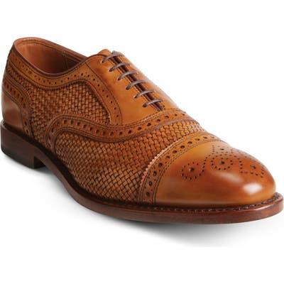 Allen Edmonds Strand Weave Toe Oxford, Brown