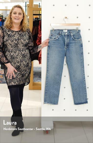 Ripley High Waist Ankle Straight Leg Jeans, sales video thumbnail