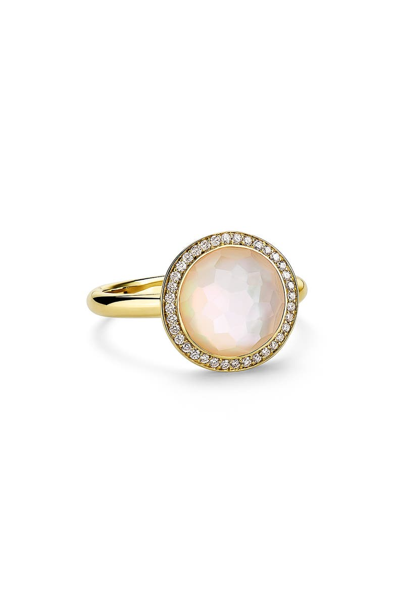 IPPOLITA Rock Candy Mini Lollipop Ring, Main, color, GOLD