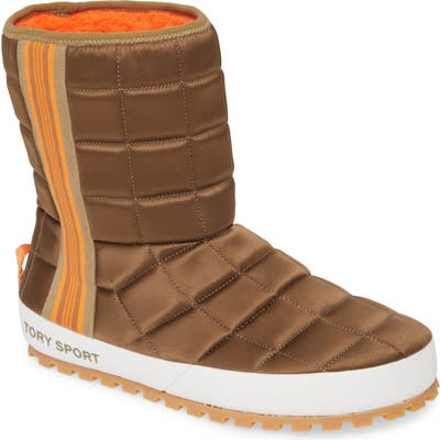 Tory Burch Quilted Boot, Green