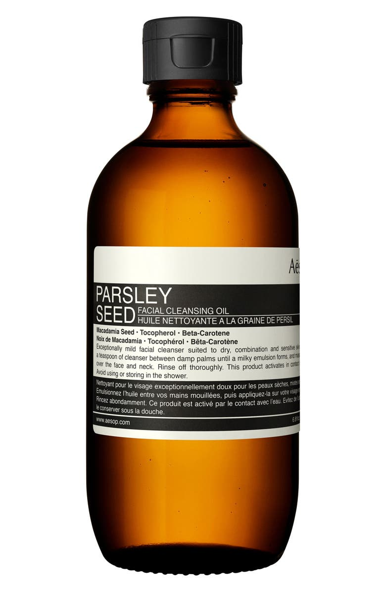 AESOP Parsley Seed Facial Cleansing Oil, Main, color, NONE