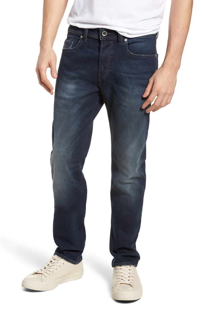 DIESEL<SUP>®</SUP> Buster Slim Straight Leg Jeans, Main, color, BLUE