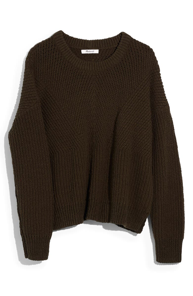 MADEWELL Joslin Sweater, Main, color, DRIED OLIVE