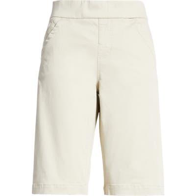 Liverpool Lacie Bermuda Shorts, Beige