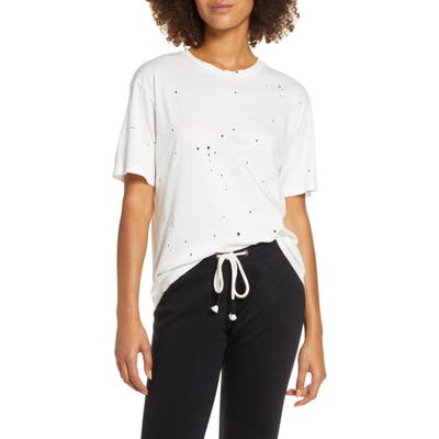 Groceries Apparel Demi Boyfriend Tee, White